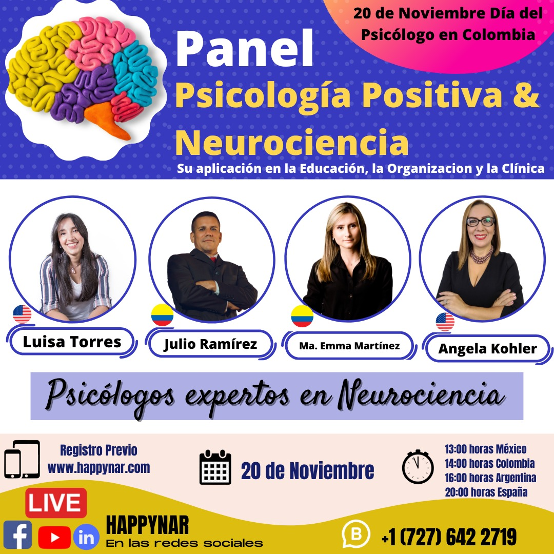 Panel Psicología Positiva & Neurociencia